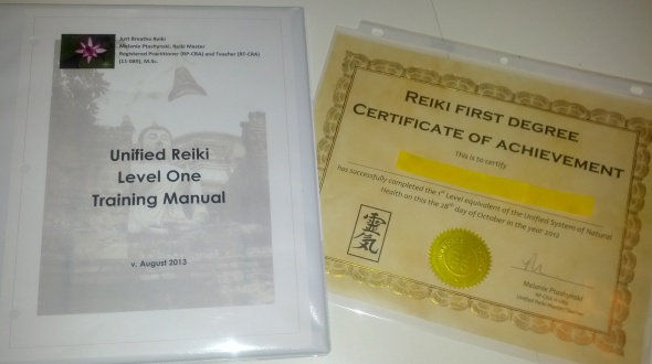 Comprehensive manual and certificate included with course
