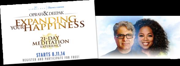 deepak oprah meditation